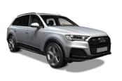 Audi Q7 silber